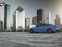 2015 Vorsteiner BMW F82 M4 GTRS4 Yas Marina Blue  , 4 of 7