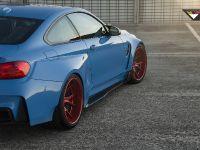 2015 Vorsteiner BMW F82 M4 GTRS4 Yas Marina Blue  , 7 of 7