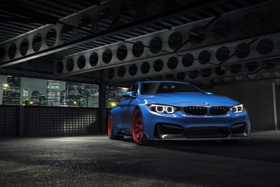 Vorsteiner BMW Yas Marina Blue GTRS4 Anniversary Edition