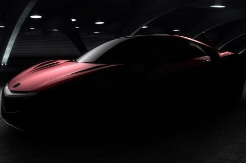 Акура делится первыми Проблесками в 2016 NSX для производства модели [видео]