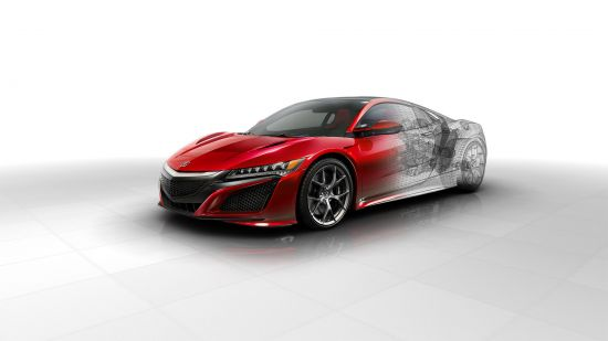 Acura NSX Technical Images