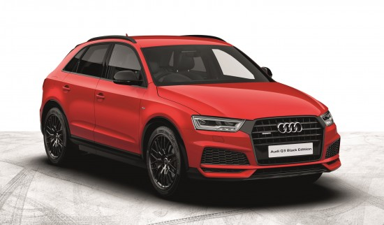 Audi Black Edition Models