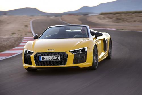 Audi представляет новый R8 Спайдер