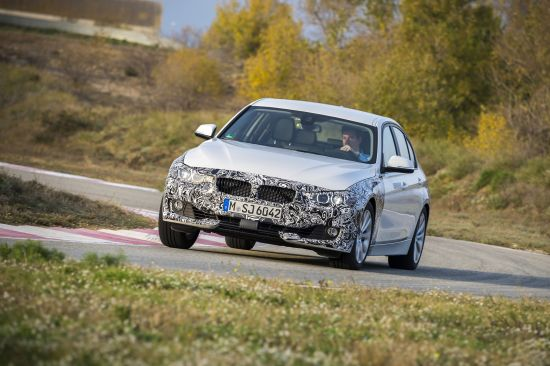 BMW 3 Series Plug-in Hybrid Prototype