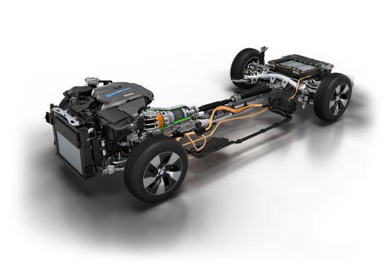 BMW 3 Series Plug-in Hybrid Prototype