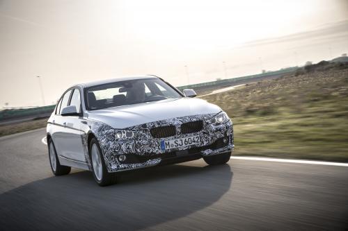 BMW 3-й серии Plug-в гибридных прототипа представила
