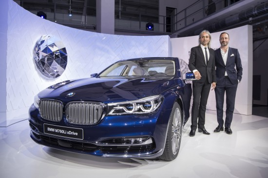 BMW Individual 7 Series THE NEXT 100 YEARS Celebration Event