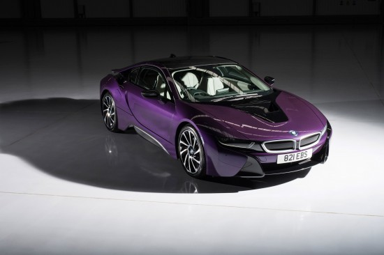 BMW Individual i8 Exterior Paint Programme