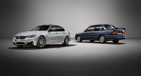BMW M3 30 Jahre Special Limited Edition
