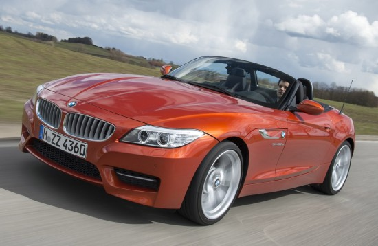 BMW Z4 E89 sDrive35 in Valencia Orange Metallic