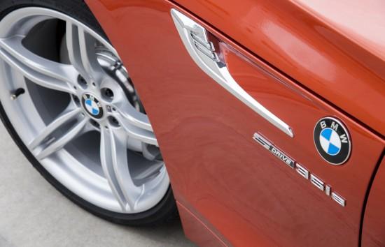 BMW Z4 E89 sDrive35 in Valencia Orange Metallic