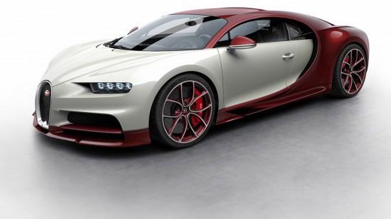 Bugatti Chiron Colorized