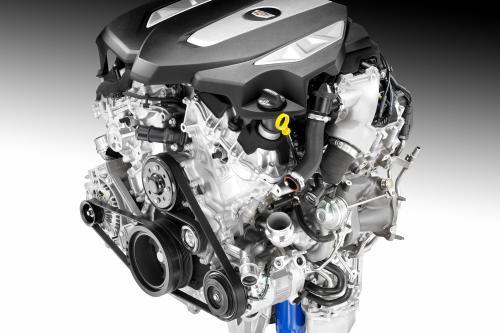 Cadillac CT6 c 3.0л Твин Турбо Двигателем