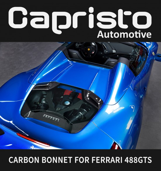Capristo Automotive Ferrari 488 GTS