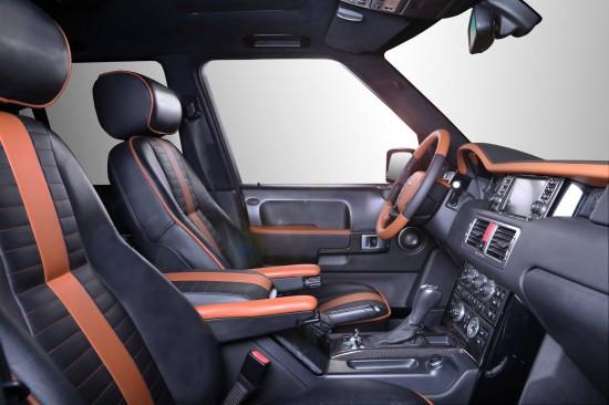 Carbon Motors Range Rover Onyx Concept