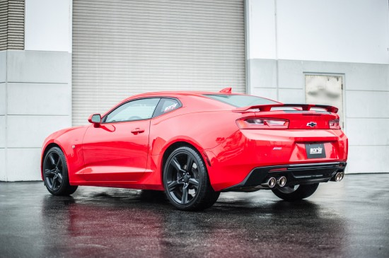 Chevrolet Camaro SS with Borla Exhaust System