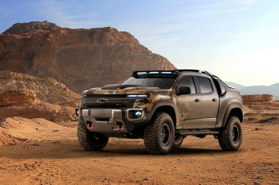 Chevrolet Colorado ZH2 Fuel Cell