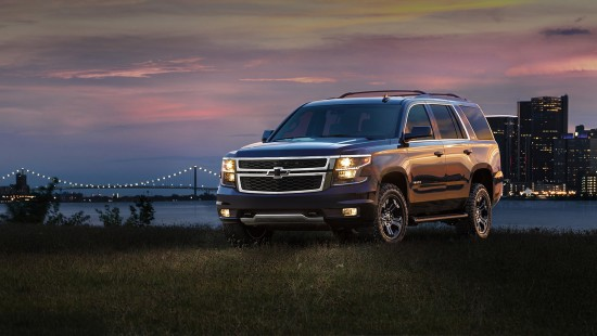 Chevrolet Tahoe and Suburban Black Edition Packs
