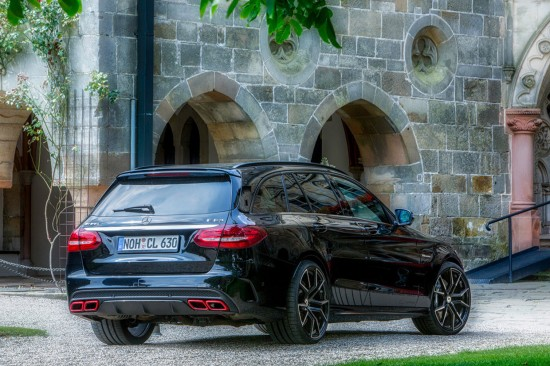 Christian Lubke Mercedes-AMG C63 Exhaust System