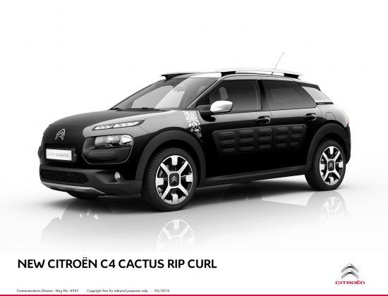 Citroen C4 Cactus Rip Curl Special Edition