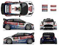 2016 Ford Elfyn Evans M-Sport Fiesta RS WRC, 4 of 4