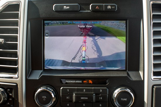 Ford F-150 Pro Trailer Backup Assist System