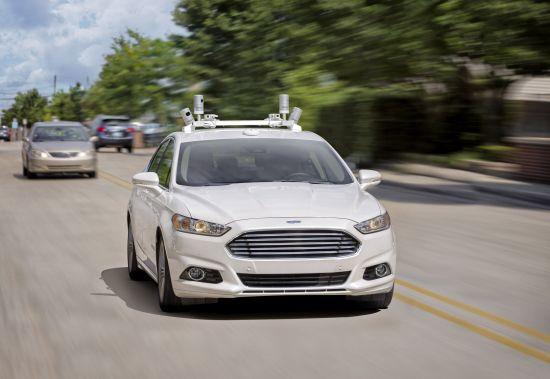 Ford Fusion Fully Autonomous Vehicle Prototype
