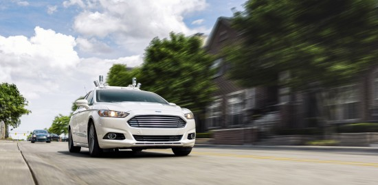 Ford Fusion Fully Autonomous Vehicle Prototype