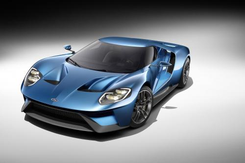 2016 Форд ГТ: углеродного волокна суперкар, который поставляет более чем 600 л. с. [видео]