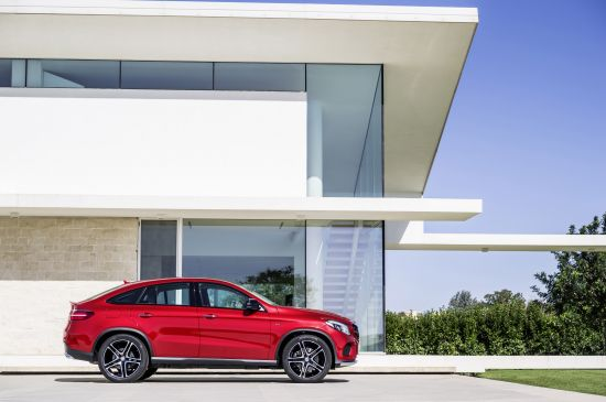 Mercedes-Benz GLE450 AMG Coupe