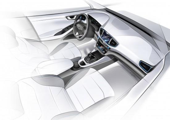 Hyundai IONIQ Concept Sketches