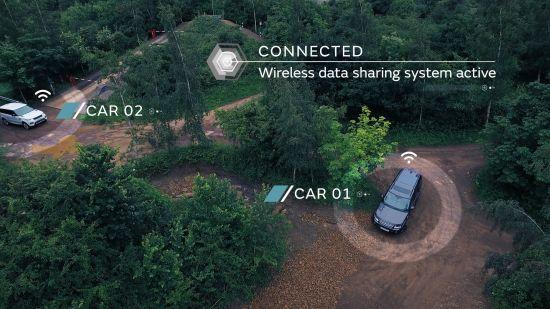 Jaguar Land Rover DSRC System