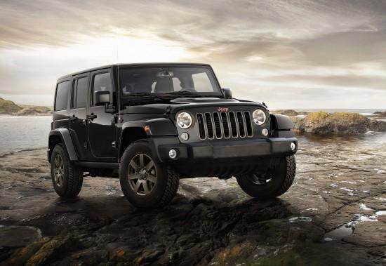 Jeep 75th Anniversary Models
