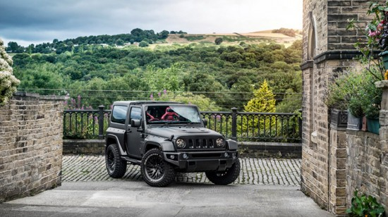 Kahn Jeep Wrangler CTC Black Hawk Edition