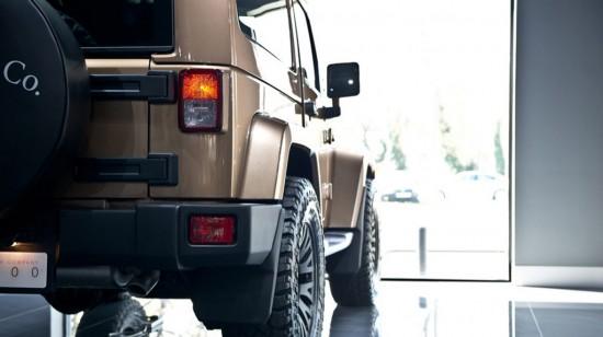 Kahn Jeep Wrangler Sahara CJ300 Adventure Edition