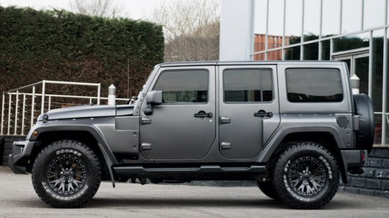 Kahn Jeep Wrangler Sahara CJ300 Black Hawk Edition
