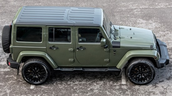 Kahn Jeep Wrangler Sahara CTC CJ300