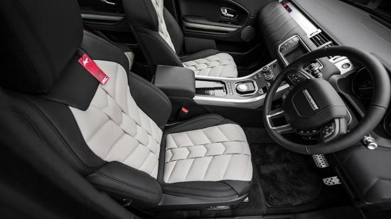 Kahn Range Rover Evoque Black Label Edition