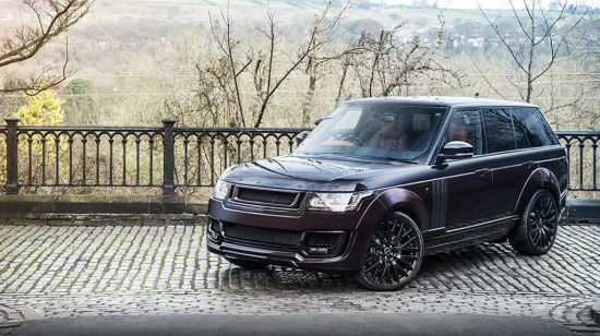 Kahn Range Rover RS Pace Car Black Kirsch Over Madeira Red