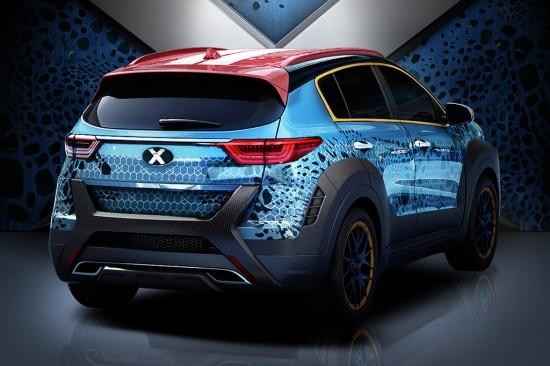 Kia Sportage X-Men Apocalypse