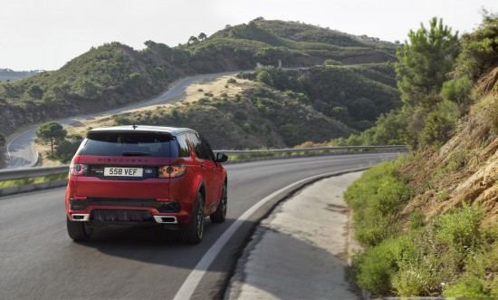 Land Rover Discovery Sport Dynamics
