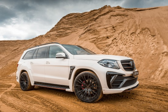 LARTE Design Black Crystal Mercedes-Benz GLS