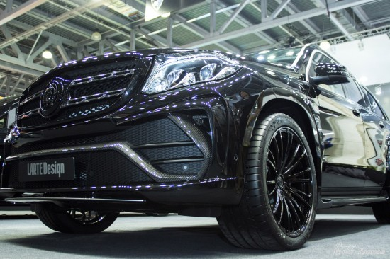 LARTE Design Mercedes-Benz GLS Black Crystal