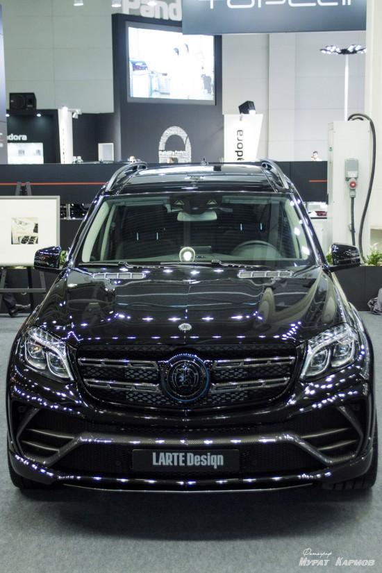 LARTE Design Mercedes-Benz GLS Black Crystal