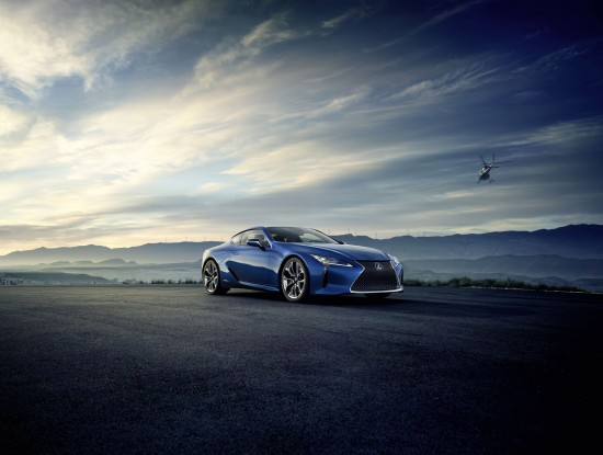 Lexus LC 500h Luxury Coupe