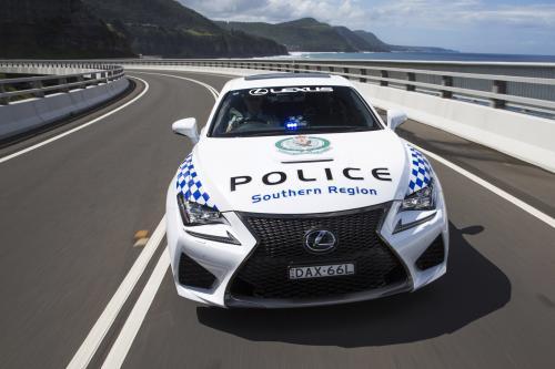 Lexus RC-F NSW police coupe Новый Южный Уэльс присоединяется австралийский полицейский автопарк