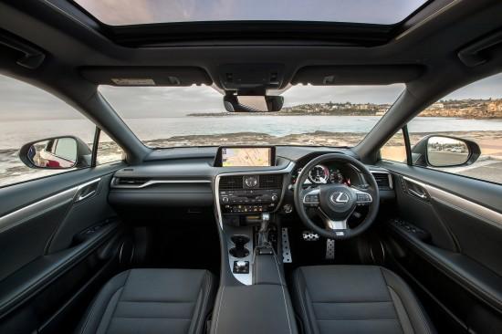 Lexus RS F Sport