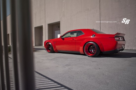 Liberty Walk Dodge Challenger Hellcat by SR Auto