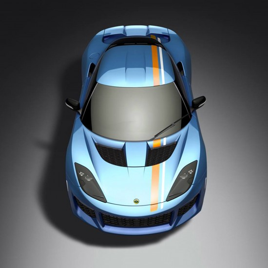 Lotus Evora Blue and Orange Limited Edition