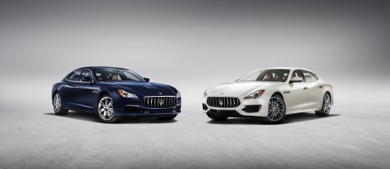 Maserati Quattroporte GranLusso and GTS GranSport